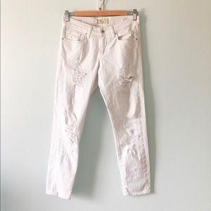 Lucky Brand Sienna slim boyfriend jeans,Size 0/25
